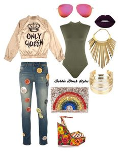 """""""Untitled #52"""" by bobbieblush on Polyvore featuring Each X Other, Victoria Beckham, Anya Hindmarch, Charlotte Olympia, WearAll, WithChic and Balmain"""