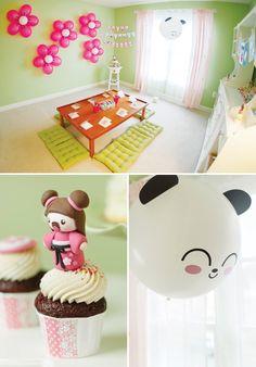 Cute Kawaii Love Birthday Party