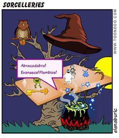 Le Congrès des sorcières. Halloween en direct et en exclusivité. Vidéo, jeu et autres activités