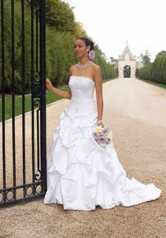 African American Wedding Dresses | African American Brides Blog: Wedding Dress of the Day