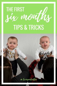 20 Tips and Tricks for the first six months with twins for new twin moms from a new twin mom     #newmom #twinmom #twinlife #feedingtwins #babies #infants #momtips #newmomtips #twintips #tipsfortwins