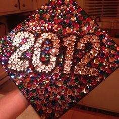 My grad cap '2012!------ i think ill do something similar to this