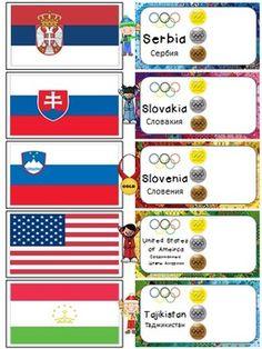 Winter Olympics 2014 ~ Parade of Nations