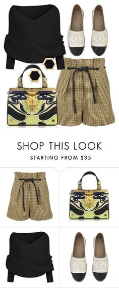 """Seine Sightings"" by fashionforwarded ❤ liked on Polyvore featuring 3.1 Phillip Lim, Giancarlo Petriglia, Chanel and Birks"