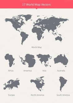 Vector infographic web design on blurred unfocused background world 17 world map vectors by dreamstale on creative market gumiabroncs Choice Image