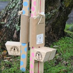 Quality wooden kids stilts made in New Zealand. Three different sizes to chose from, adjustable step heights (not including small size), comfortable grip, untreated pine and coated with water based varnish.    Kids will get years of active fun from these great toys. Each pair is hot iron branded and individually numbered.    Good for ages 5 years and up.