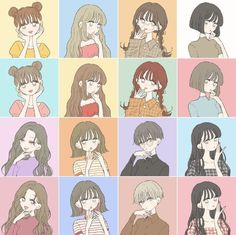 Cute Animal Drawings Kawaii, Kawaii Drawings, Cute Drawings, Kawaii Illustration, Character Illustration, Kawaii Anime Girl, Anime Art Girl, Cute Anime Character, Character Art