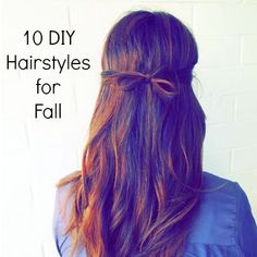 Express yourself with these hairstyles that will las tall day long!