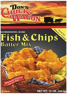 Don's Chuc Batter Mix Fish N Chips, 12-Ounce Boxes (Pack of 6) * Buy NOW before out of stock... : Baking supplies