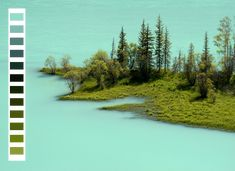 An Inspiring Blog That Matches Color Palettes To Beautiful Nature Scenes - DesignTAXI.com
