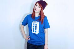 Hello clorox bleach pen and blue t-shirt :-)