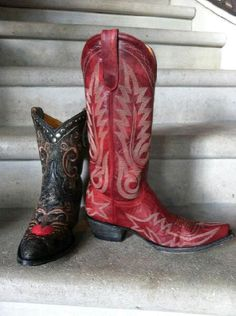 Red Boots for LukE Bryan