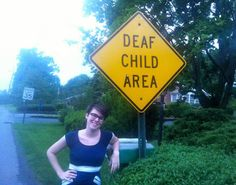 How to speak to a deaf person