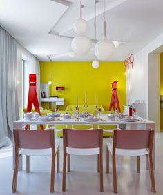 Casinha colorida: Home Tour carnavalesco