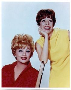 Carol Burnett and Lucille Ball...two of my ALL TIME favorites!