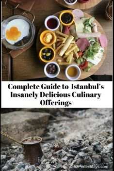 The Complete Guide To a Full Day of Istanbul's Insanely Delicious Culinary Offerings including Istanbul Restaurants, Street Food & Turkish Coffee. via @52perfectdays