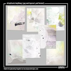 Oscraps :: Shop by Designer :: Anna Aspnes Designs :: ArtsyKardz Anything #art #digitalart #scrapbook #photography