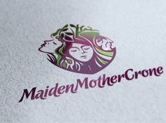 Logo design  for MaidenMotherCrone by calendula #POTD99 06.16.2013 #coffee #bakery