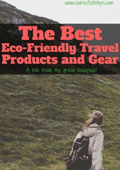 Here's the essential eco-friendly items that I always travel with, with reasons…