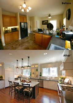 Kitchen Renovation Ideas Before And After 75 kitchen design and remodelling ideas (before and after)
