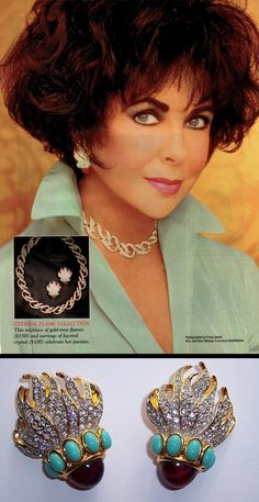 The Elizabeth Taylor Eternal Flame Collection for Avon, 1993