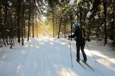 Kayak, Cross Country Skiing, Greatest Adventure, Winter Fun, Occasion, Pigeon, Nature, Outdoors, Mountains