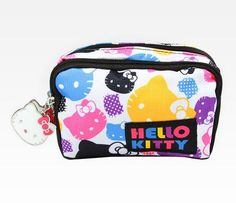 Hello Kitty Cosmetic Pouch: Colors