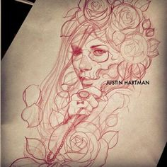 Justin Hartman Drawing