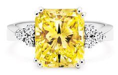 Rosendorff Golden Collection Fancy Yellow Diamond Ring