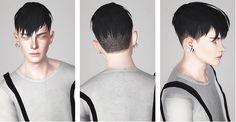 Jjjjjan 09 hairstyle retextured by Liahx for Sims 3 - Sims Hairs - http://simshairs.com/jjjjjan-09-hairstyle-retextured-liahx/