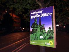 The Pitch Pipes auf den Wahlplakaten in Aachen! :)