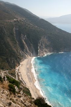 De kust van Kefalonia