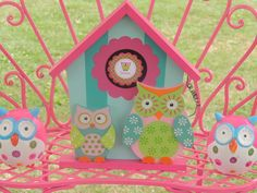Décor at an Owl Party #owl #party
