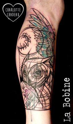 Charlotte Chadeau - tattoo artist at La Bobine Tattoo Club - the vandallist (6)