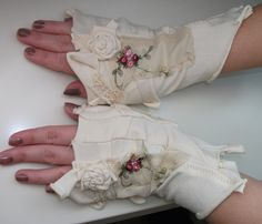 photo of of shabby chic spring - Yahoo! Search Results  steampunk gloves wedding  www.etsy.com