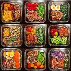 What a beautiful meal prep by the wife of @howard705 ...lucky man!! - Take the guesswork and headache out of meal planning and prepping for you and your partner with @MealPlanMagic . You can combine two custom meal plans into a single grocery list and cooking summary to help speed things up. No more kitchen math!! - ALL-IN-ONE TOOL  GUIDES - Build Custom Plans  Set Nutrition Goals BMR BMI  Max Rate Calculator Learn Your Macros by Body Type  Goal Grocery Lists Automated to Weekly Need.....