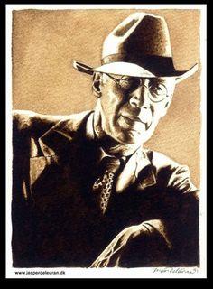 Henry Miller. Watercolour.