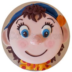 Convey Your Special Wishes To Kids By Gifting This Sweet And Delicious Round Shaped Noddy Order Birthday Cake OnlineCartoon
