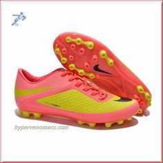 Tie a Soccer Cleats Nike Hypervenom Phantom AG ACC Soccer Cleats Rose Hermosa