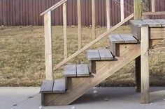 How to Build Simple Front Porch Steps (7 Steps)   eHow