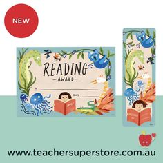 NEW: Wild Creatures Certificates & Bookmarks These beautifully designed reading award certificates and bookmarks are ideal for acknowledging literacy events such as CBCA Book Week. View the range online now.