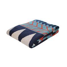 Winter Slopes Throw Blanket | dotandbo.com