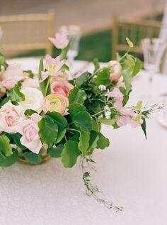 Elegant pink floral centerpiece: http://www.stylemepretty.com/texas-weddings/dallas/2015/08/10/dreamy-romantic-dallas-garden-wedding-in-shades-of-pink/ | Photography: Apryl Ann - http://www.aprylann.com/