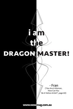 #read Fran's artistic & #tattoo journey to become the #DragonLady of #Hahndorf. #wow #mirages #magazine #sassy