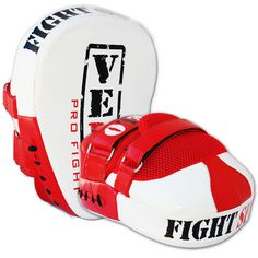 VELO Curved Focus Pads Hook & Jab Mitts Boxing Punch Gloves Bag Kick Thai