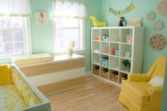 teal & Yellow Nursery