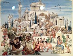 'Atenas' de Antonio Mingote (1919-2012)