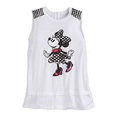 Minnie Mouse Sleeveless Fashion Tee for Women - 1409579
