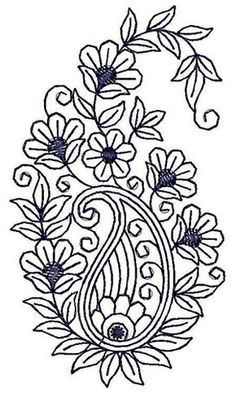 Applique Embroidery Design 20777