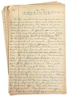 Original Manuscript of John Steinbeck's Sweet Thursday.  NO way!